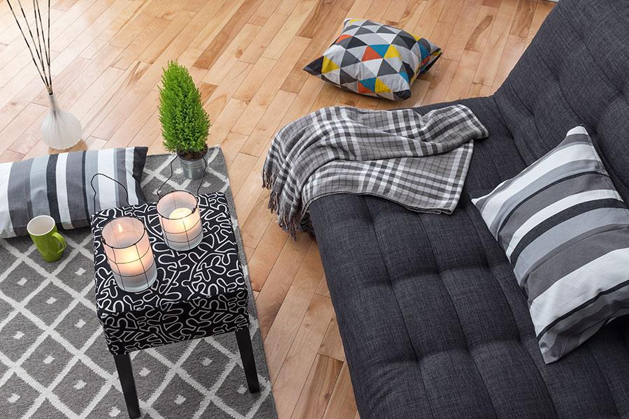 Bytta textilier i vardagsrum