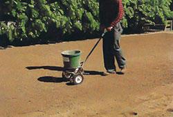 Jordförbättring med gödselspridare