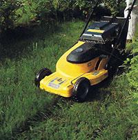Motorgräsklippare