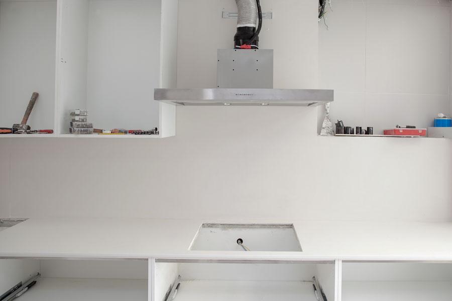 Installation av köksfläkt