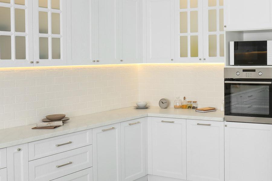Ljussättning för bra arbetsbelysning i kök