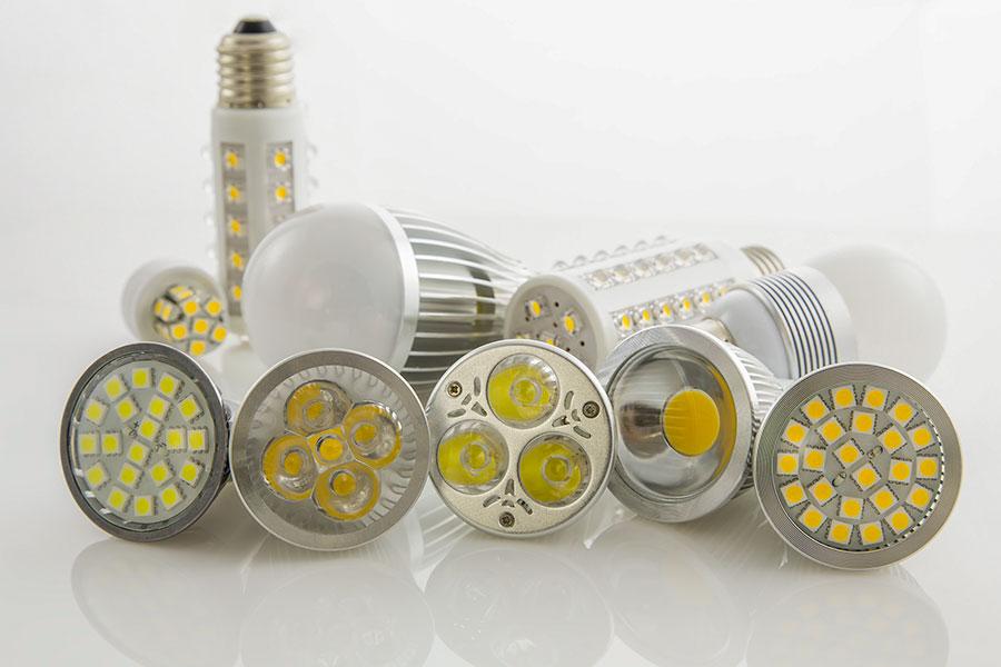 Energisnåla LED lampor