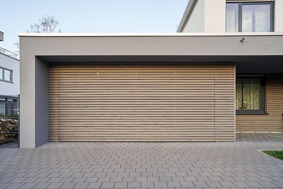Garageport vald med design