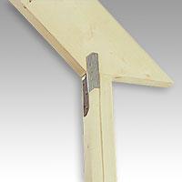 Takåsbeslag är ett speciellt byggbeslag med vilket man förankrar takstolar mot underliggande hammarband och regelvägg
