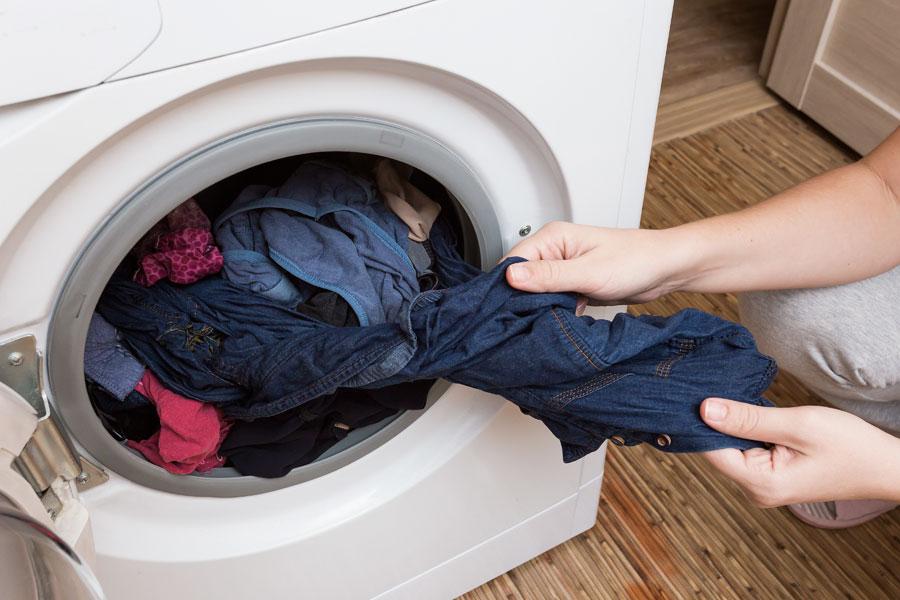 Tvättmaskin med centrifug
