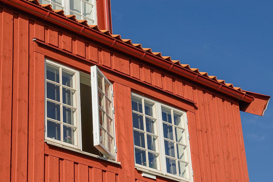 Moderna allmogefönster