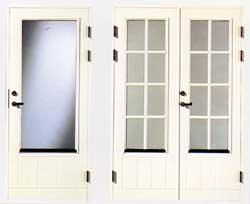 Olika typer av fönsterdörrar
