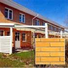 Trådskuret fasadtegel