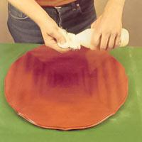 Avsluta till exempel med silikonfri polish