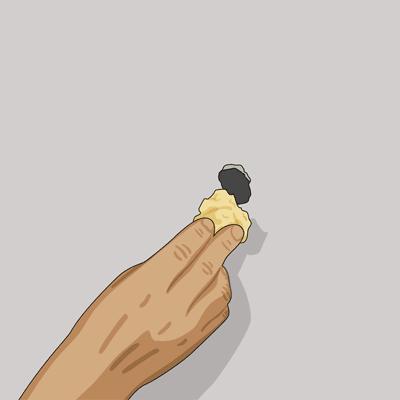 Fyll hålet med mineralull i gipsväggen