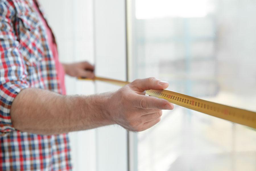Mäter för fönsterbyte