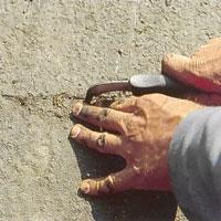 Skär bort överflödigt material