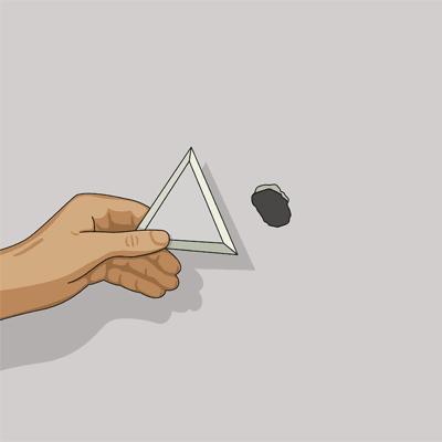 Skär ut en passbit för hålet i gipsväggen