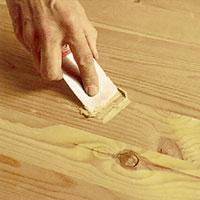 Plastiskt trä till träytor som inte ska målas