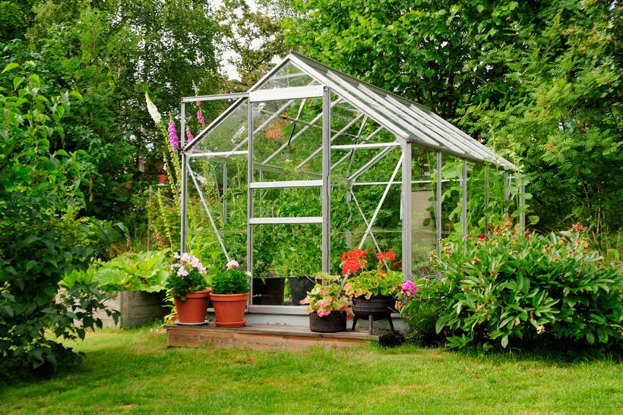 Växthus av aluminium