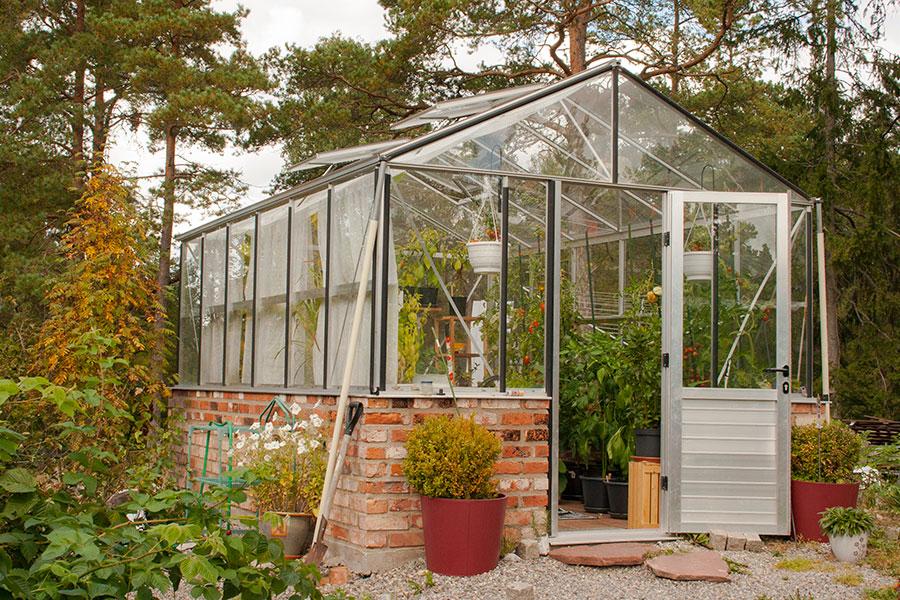 Designat växthus