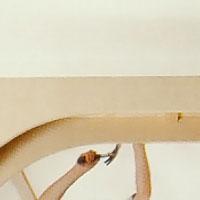När alla slutjusteringar är gjorda, fäster du även den andra bågen i vägg och takreglar