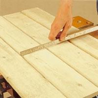 Bestäm höjd och antal väggbrädor