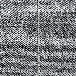 Helt öglad matta