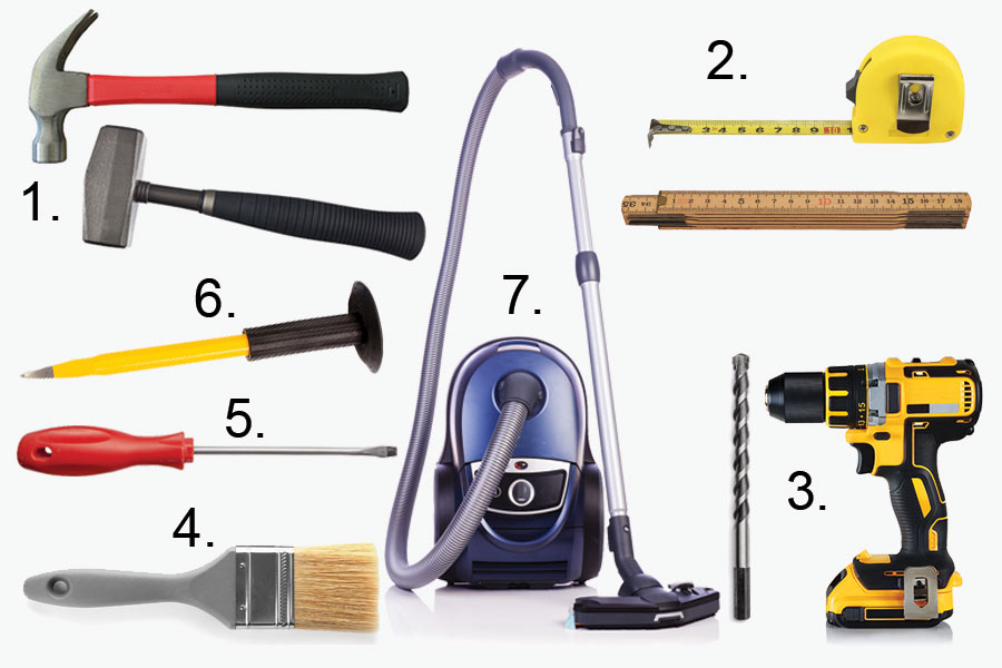 verktyg för installation av braskamin