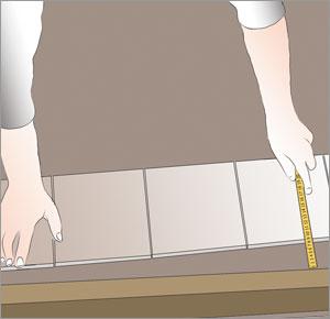 uppmätning av vinkelräta väggar