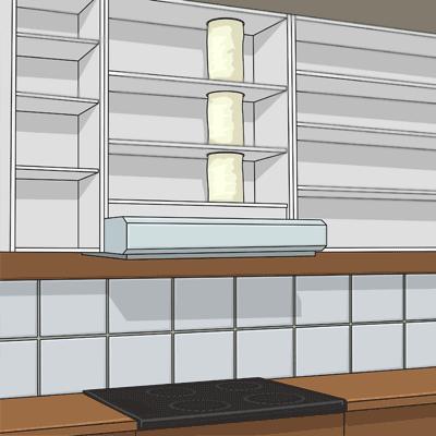 Köksfläkt installerad och klar
