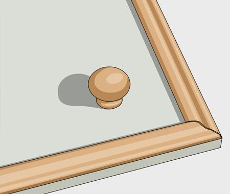 Måla köksluckor med furulister. bild 4