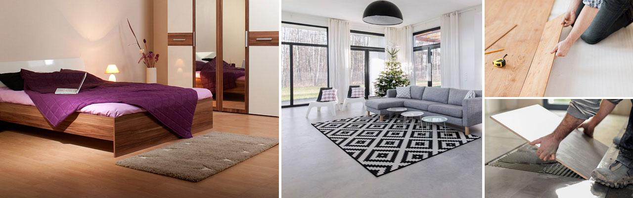 Vackra golv och golvläggning