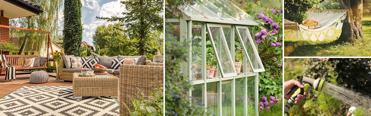 Trädgård med massor av tips, idéer och inspiration