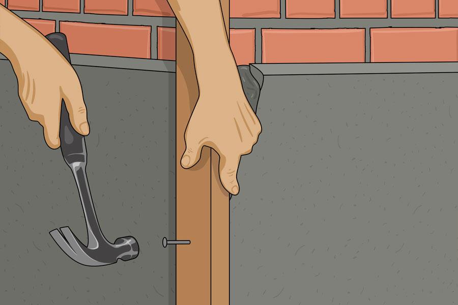 Laga sprickor i husgrund steg 11