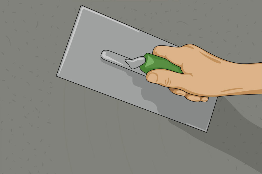 Laga sprickor i husgrund steg 14