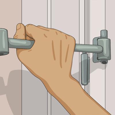 Lär dig åtgärda dörren när den kärvar