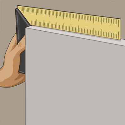 Små skevheter kan hyvlas eller slipas bort