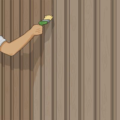 Lasering av stående panel