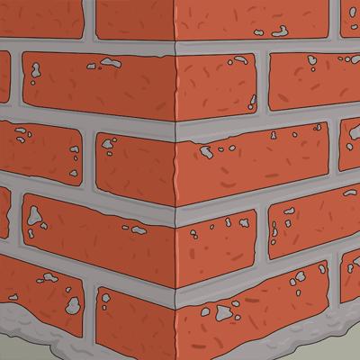 Vattna murytan tills väggen kan hålla sig vattenmättad och blank i ca 5 min